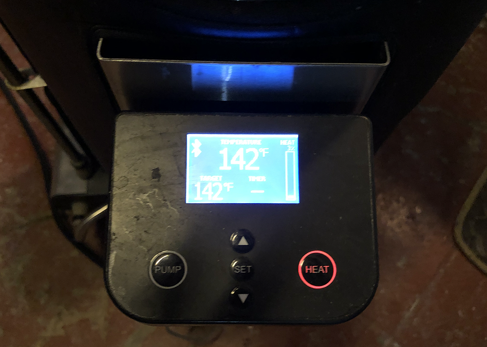 Grainfather connect, bluetooth connection device for brewing.